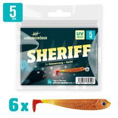 Lieblingsköder Gummifisch Barschköder 5cm Sheriff