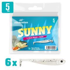 Lieblingsköder Gummifisch Barschköder 5cm Sunny