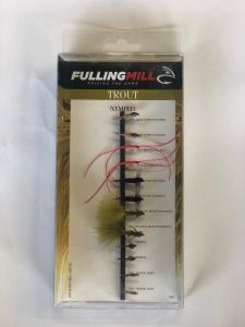 Fulling Mill Trout Nymphs Selection Pack Nymphen Set 12 Stück