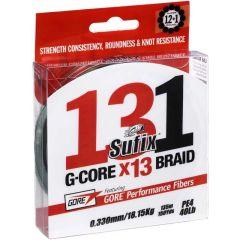 Sufix 131 G-Core x13 Braid geflochtene Schnur Neon Chartreuse 150m