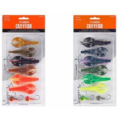 Fladen Crayfish 95mm | Gummikrebs-Set
