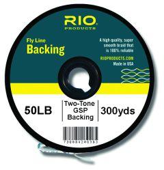 RIO Zweifarbiges Backing 300yds 50lb