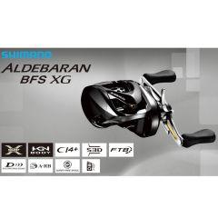 Shimano Aldebaran BFS XG Baitcastrolle