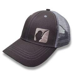 AngelJoe Mesh Cap Grau mit 3D Logo  | US Style