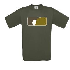 AngelJoe T-Shirt US-Logo Khaki | Die brandneue Kollektion von AngelJoe
