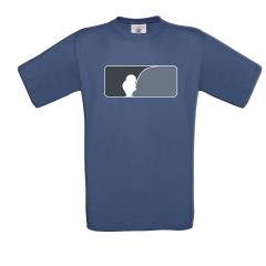 AngelJoe T-Shirt US-Logo Navy