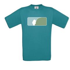 AngelJoe T-Shirt US-Logo Petrol | Die brandneue Kollektion von AngelJoe