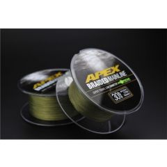 Korda Apex Braided Mainline Karpfenschnur 1200m 0,23mm | 30 lbs