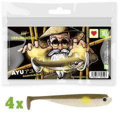 Lieblingsköder Gummifisch Ayu 10cm | Sonderfarbe