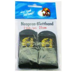 Behr Neopren-Klettband 21cm 2 Stück | Rutenbänder