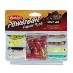 Berkley PowerBait Power Pack Perch Kit Gummifischset