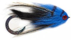 Fulling Mill Paolo's Wiggle Tail Bunny Black & Blue Streamer Gr. 6/0