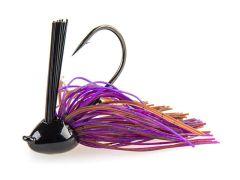 Black Flagg Compact Jigg Light Wire 12,5g Brownbug | Rubber Jig - Skirted Jig