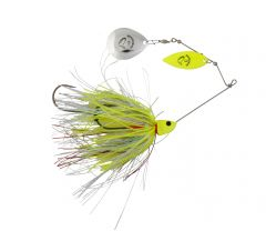 Savage Gear Da´Bush Spinnerbait 32g #3 Yellow Silver Holo Flame