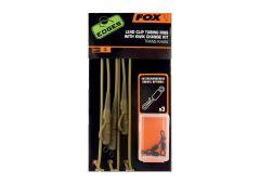 Fox Edges Lead Clip Tubing Rigs + Kwik Change Kit