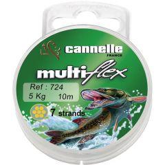 Cannelle Multiflex 10m 1x7 strands | Stahlvorfach