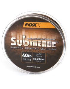 Fox Submerge geflochtene Karpfenschnur 300m