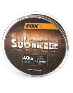 Fox Submerge geflochtene Karpfenschnur 600m