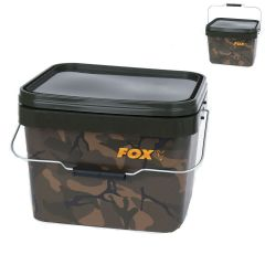Fox Camo Square Bucket 17 Liter Eimer