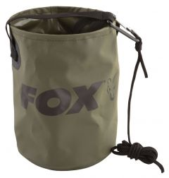 FOX Collapsible Water Bucket Inc. Cord & Clip, Falteimer