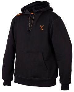 Fox Collection Hoody Black/Orange S-XXXL | Kapuzenpullover