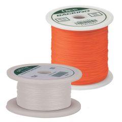Dacron Fly Line Backing 30 lb 200 yds  (Weiß oder Orange)