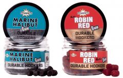 Dynamite Baits Durable Hookers Marine Halibut und Robin Red