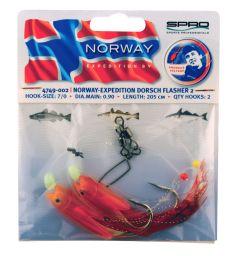 Spro Norway Expedition Dorsch Flasher 2 | Meeresvorfach
