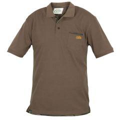 Fox Chunk Polo Shirt Khaki T-Shirt