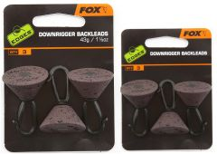 Fox Edges Downrigger Backleads Karpfenbleie 21 & 43gr.