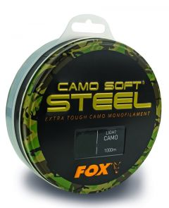 Fox Camo Soft Steel Monofilschnur Light Camo | 1000m