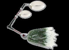 Delalande Spinner Flex Frog 14g grün/weiß | Spinnerbait