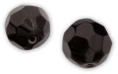 Quantum 4street Glass Bead schwarz 12-15 Stück