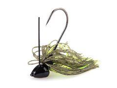 Black Flagg Iron Jigg 5,5g Green Pumpkin Chartreuse | Rubber Jig - Skirted Jig