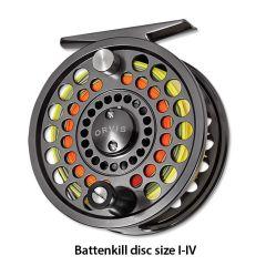 Orvis Battenkill Disc Fliegenrolle  Rolle wird ohne Schnur geliefert.