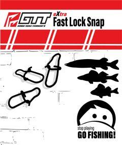 GTT Fast Lock Snap 10 Stück | Einhänger