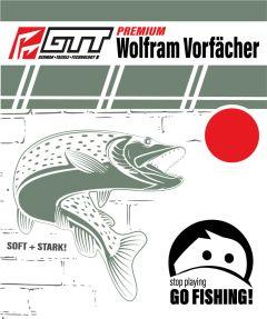 GTT Premium Wolfram Vorfach 25cm 2,5kg - 25,0kg