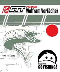 GTT Premium Wolfram Vorfach 20cm 2,5kg - 10,0kg
