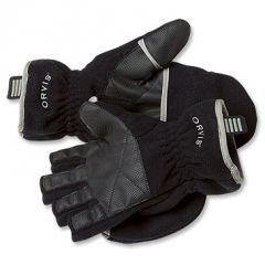 Orvis Fold-Over Fleece Handschuhe