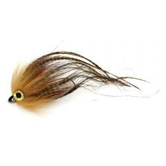 Traun River Predator Candy heavy, braun grizzly Hecht-Huchenstreamer