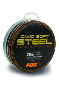 Fox Camo Soft Steel Monofilschnur Dark Camo | 1000m