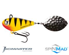 SpinMad Jigmaster Spinning Tail 24g 115mm yellow perch Jigspinner