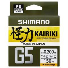 Shimano Kairiki G5 Mysterious Power 150m | geflochtene Schnur