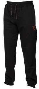 Fox Collection Lightweight Jogger Black/Orange | Jogginghose