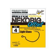 Nogales HOOKING MASTER Neko Rig Offsethaken Light Class #4