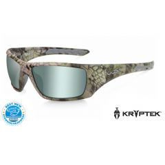Wiley X Nash Pol Green Plat Flash Kryptek Altitude Frame