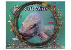 Profi-Blinker Soft Wire Stahlvorfach 7 x 7 | 5 m 6 - 15 kg