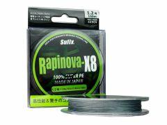 Sufix Rapinova X8 100% Super PE grau 150m   geflochtene Schnur