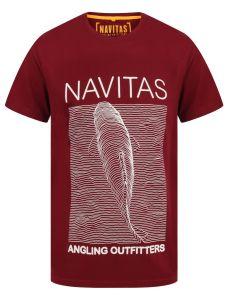 Navitas Joy Burgundy T-Shirt