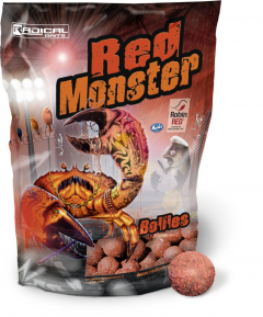 RADICAL BAITS Red Monster Boilie 20mm 1kg